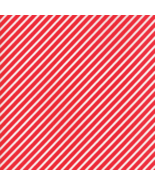 Fabric-Moda Vintage Holiday-Red Stripe Flannel-55168-11F - $9.50
