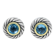 David Yurman Sterling Silver Cookie Earrings - $450.00