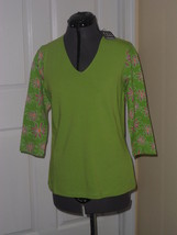 KATE LORD GOLF PERFORMANCE SHIRT TOP SIZE S STR... - $20.49