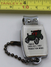1903 Cadillacs First Production Model Keychain and Nail Clipper Duo VIC ... - $10.26