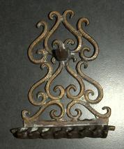 Judaica Hanukkah Oil Menorah Hanukkiah Bronze Oriental Decorations  image 4