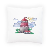Pretty Sea Lighthouse Pillow Cushion Cover p681p - $12.02+
