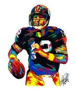 "Terry Bradshaw, Pittsburgh Steelers, Quarterback, Football, 18""x24"" Art ... - $19.99"