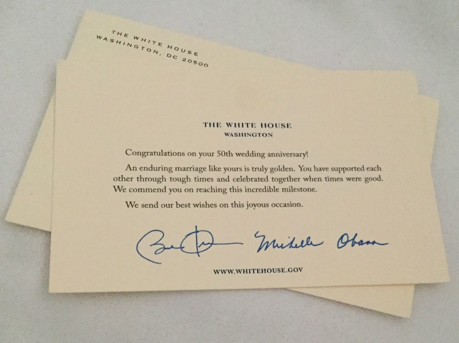 Obama white house 50th anniversary greetings and 50 similar items obama white house 50th anniversary greetings and 50 similar items s l1600 m4hsunfo