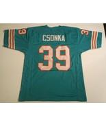 UNSIGNED CUSTOM Sewn Stitched Larry Csonka Teal Jersey - M, L, XL, 2XL - $33.99