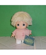 """Precious Moments Hi Babies 5"""" Blonde Doll in Pink Shirt Welcome Baby IT'... - $7.95"""