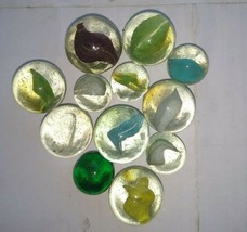 Antique glass Of MARBLES lot of 12 ! - $18.00