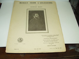 MENUET FROM L'ARLESIENNE By GEORGES BIZET...CLASSICAL SHEET MUSIC - $16.82