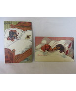 "Vintage Comic Postcards with Dogs - ""The Widow"" & ""Married for Love"", Un... - $10.99"
