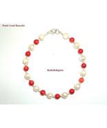 Pearl Coral Bracelet - $24.75