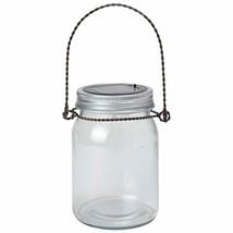 Moonrays Large Solar Powered Decorative Jar Light LED Light White - $17.99