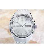 Mens Citizen Newmaster 36mm Day Date Manual Wind, c.1970s Vintage JR24 - $651.47