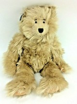 "Ganz Oswald Teddy Bear Brown Furry Plush 12"" Heritage Collection 1999 NEW - $38.69"