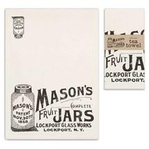 Mason's Complete Fruit Jars Cotton Tea Towel Ki... - $9.85