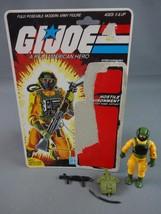 Vintage GI JOE Action Figure 1985 Airtight 99% w Full Cardback Near Comp... - $13.28