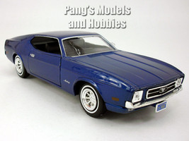 Ford Mustang Sportsroof (1971) 1/24 Scale Diecast Model by Motormax - BLUE - $29.69