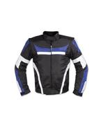 QASTAN Men's New Superb Black Motorbike CE Protectors Leather Jacket QMMJ30 - $159.20+
