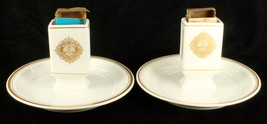 Lamberton Scammell Match Holder Ashtray Pair Hotel Dennis Atlantic City ... - $188.99