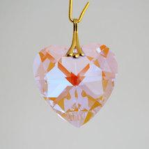 Swarovski Crystal Faceted Heart Prism image 6