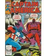 Captain America #368 ORIGINAL Vintage 1990 Marvel Comics Magneto - $12.86