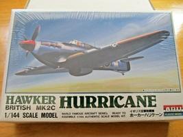 NIB Vintage ARII Hawker Hurricane British MK2C 1/144 Scale Airplane Mode... - $28.21