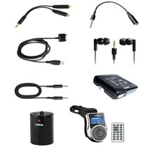 Naxa 10 in 1 Accessory Kit for iPod and iPhone - $38.34