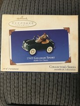1949 GILLHAM SPORT HALLMARK ORNAMENT #10  In Series KIDDIE CAR CLASSICS ... - $3.95