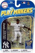 Derek Jeter New York Yankees Playmakers Figure NIB MLB 2010 Yanks NY McF... - $37.12