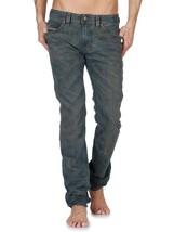 Diesel Men's Premium Designer Denim Regular Skinny Leg Jeans Thavar 0808Z