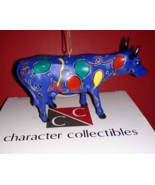 Character Collectibles Party Cow Bull Mexico - Retired Christmas Ornamen... - $8.70