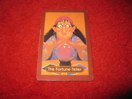 1993 - 13 Dead End Drive Board Game Piece: The Fortune-Teller Portrait Card - $1.00