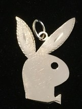 "Custom (ca. 1980) 14K Rose Gold Playboy Bunny Pendant (1 9/16"") - $415.00"