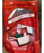 Andes ~ Peppermint Bark Candy 11.28 oz,  22 Pieces ~ 07/2021 - $15.88