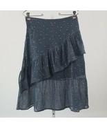 Women's Anthropologie Dolan Ruffle Floral Print Skirt XS sz XS - $76.37