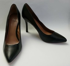 Vince Camuto Shoes Heels Black Pumps Silver Inside Heel Cynthea Womens Size 10 - $44.50