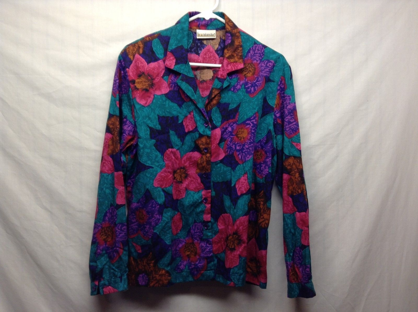 Ladies Fire Island Multicolored Floral Blouse