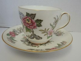 Wedgwood Cup & Saucer - Cathay Pattern - $2.85