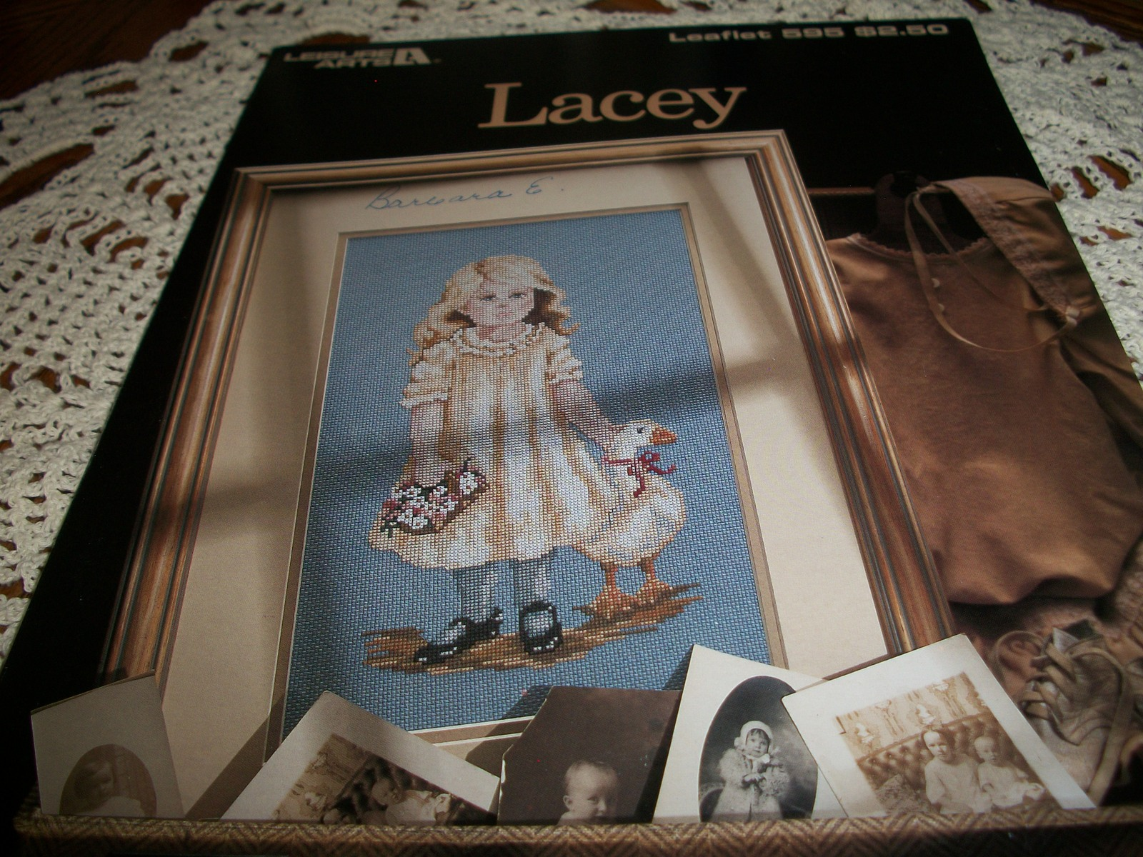 Primary image for Lacey Counted Cross Stitch Leaflet 595
