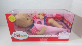 Fisher Price Baby So New Doll Little Mommy pink red ladybug outfit TORN box - $19.34