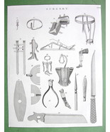 1816 TECHNOLOGY Print - Surgery Surgical Instruments Amputing Saw Bandage - $19.09