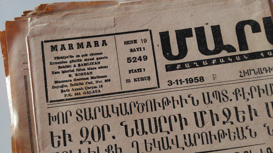 Ottoman Turkey ARMENIA Constantinople, picture postcard 1948-1968 lot newspaper image 4