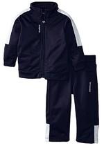 Reebok Baby-Boys Infant Tricot Set, QBF54121, Indigo Blue, Size 18M, MSRP $44 - $22.76