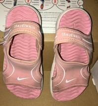 Toddler Girls SZ 9 Nike Pink Sandals Little Sunray VII - $11.30