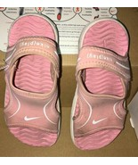 Toddler Girls SZ 9 Nike Pink Sandals Little Sunray VII - $11.30
