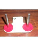 Bernina 700 Free Arm Twin Spool Holder w/Two Pins & Felt Pads + Screws - $15.00