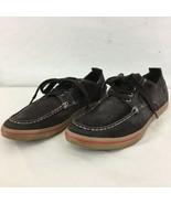 Cole Haan 9680 Air Mens 10 M Gray Suede Fashion Sneakers Shoes - $19.80