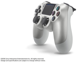 DualShock 4 Wireless Controller for PlayStation 4 - Silver - $70.00