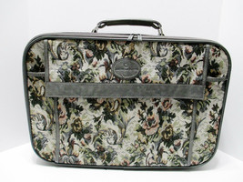American Flyer Tapestry Luggage Travel Suitcase 3 Compartments Carry On - $16.55