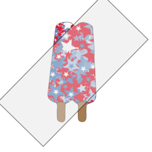 Popsicle 1A-Digtial Clipart-4th of July-Food-Art ClipJewelry-T shirt-Not... - $4.99