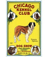 Wall Decoration Poster.Home Room art design.Chicago Kennel Club Dog show... - $10.89+